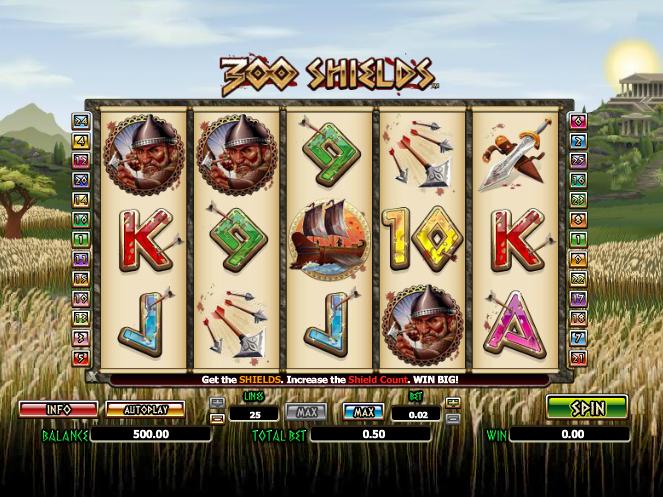 obrázek ze hry 300 shields online zdarma