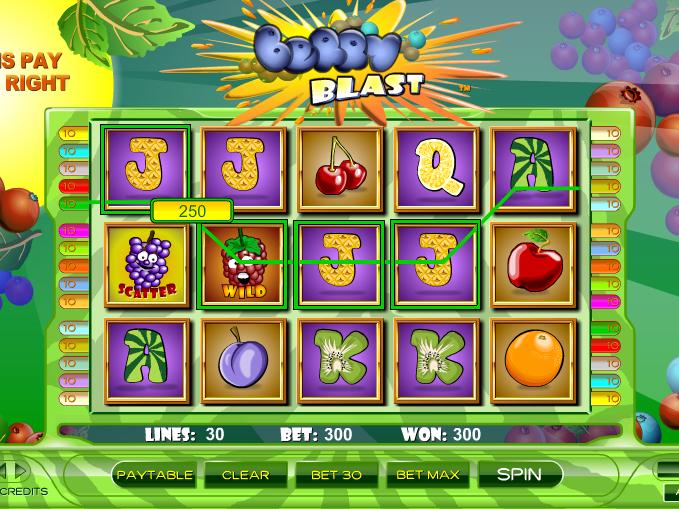 obrázek automaty berry blast online zdarma