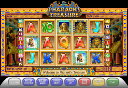 obrázek ze hry Pharaon´s Treasure online zdarma