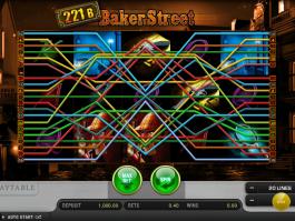 obrázek automatu 22b baker street online zdarma