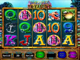 obrázek automatu Deep Sea Treasure online zdarma