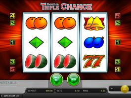 Zahrajte si casino automat Double Triple Chance online