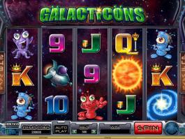 obrázek ze hry automatu Galacticons online zdarma