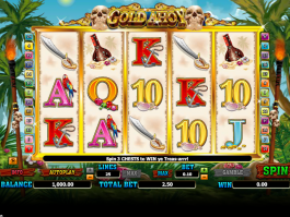 obrázek z automatu gold ahoy online zdarma