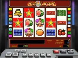 Obrázek automatu Hot Target online zdarma