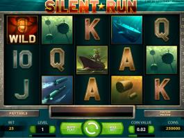 obrázek automatu Silent Run online zdarma
