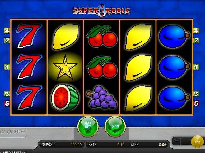 obrázek automatu Super 7 Reels zdarma online