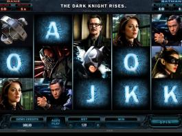 Obrázek z automatu The Dark Knight Rises online zdarma