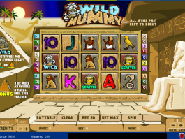 obrázek automatu Wild Mummy zdarma online