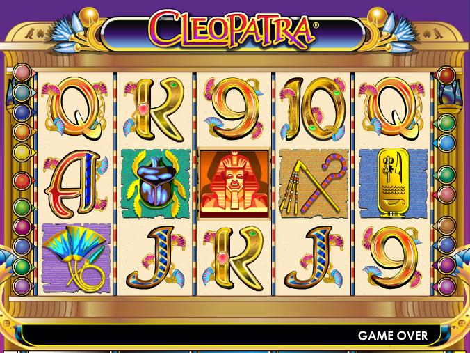 obrázek automatu Cleopatra online zdarma