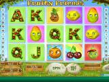 obrázek ze hry automatu online zdarma Fruity Friends