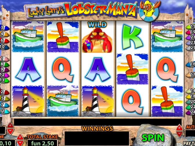 obrázek automatu Lobster Mania online zdarma