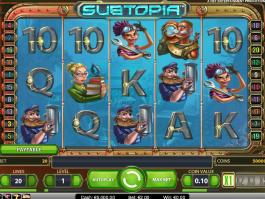 Online casino automat Subtopia zdarma