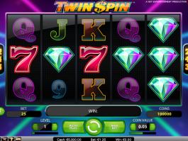Hrací online automat Twin Spin