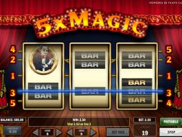 automat 5x Magic online zdarma