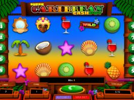 online automat Caribbean Cashpot zdarma