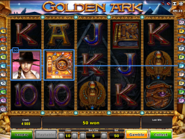 Online automat zdarma Golden Ark
