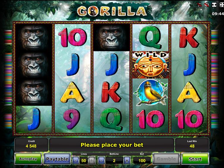 Gorrila online automat zdarma
