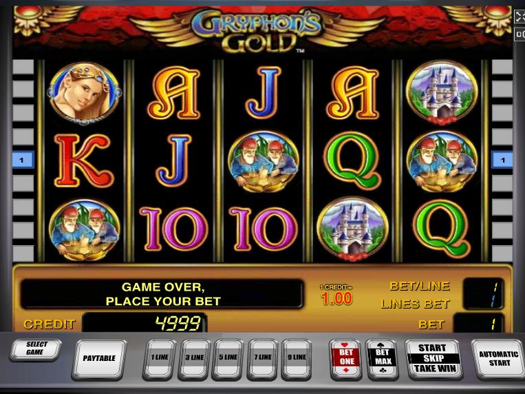 Online automat Gryphon´s Gold