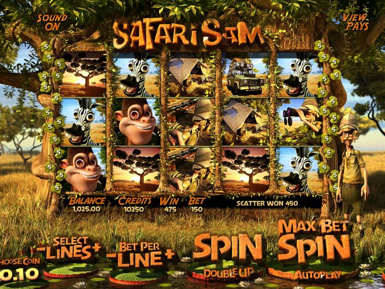Safari Sam online automat zdarma