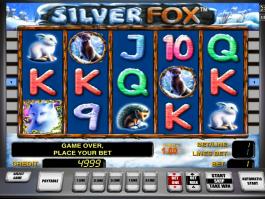 online automat zdarma Silver Fox