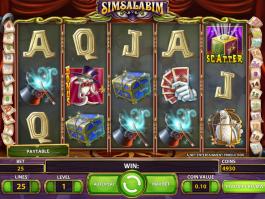 Zábavný výherní automat Simsalabim zdarma online