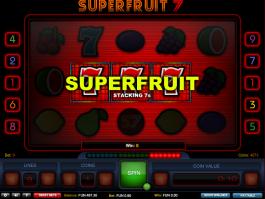 automat Superfruit 7 online zdarma