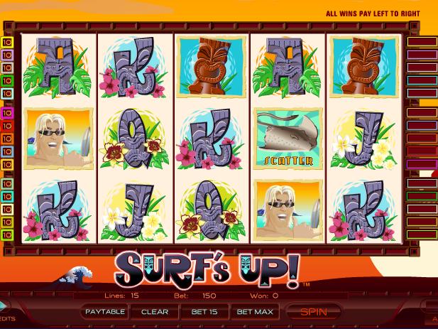 online automat zdarma Surf´s Up