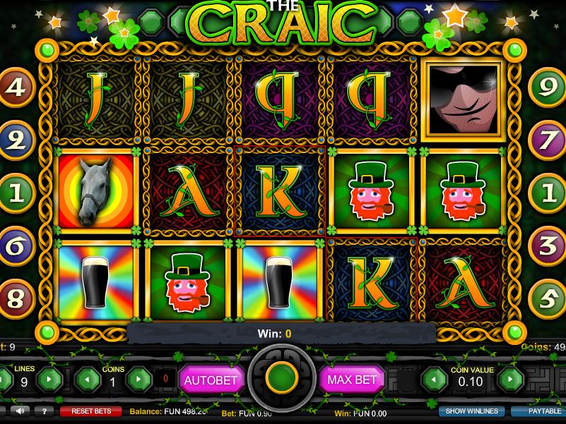 The Craic online automat zdarma