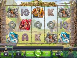 Wild Turkey automat online zdarma