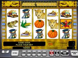 Aztecs Treasure online automat zdarma