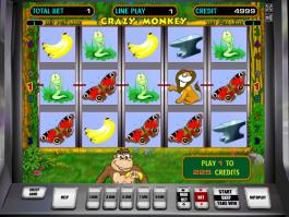 online automat Crazy Monkey zdarma