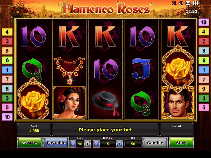 Flamenco Roses zdarma online automat