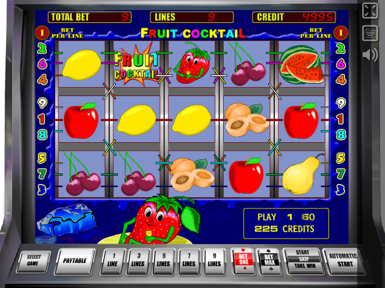 online automat Fruit Cocktail zdarma