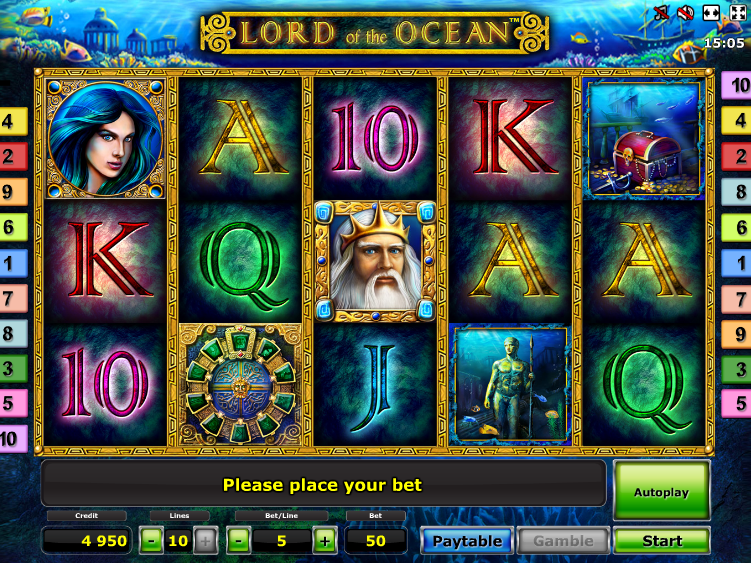 Online automat Lord of the Ocean zdarma