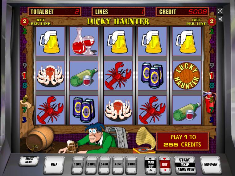 online automat zdarma Lucky Haunter
