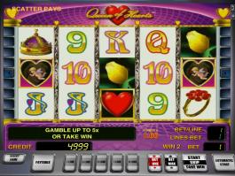 Queen of Hearts online automat zdarma