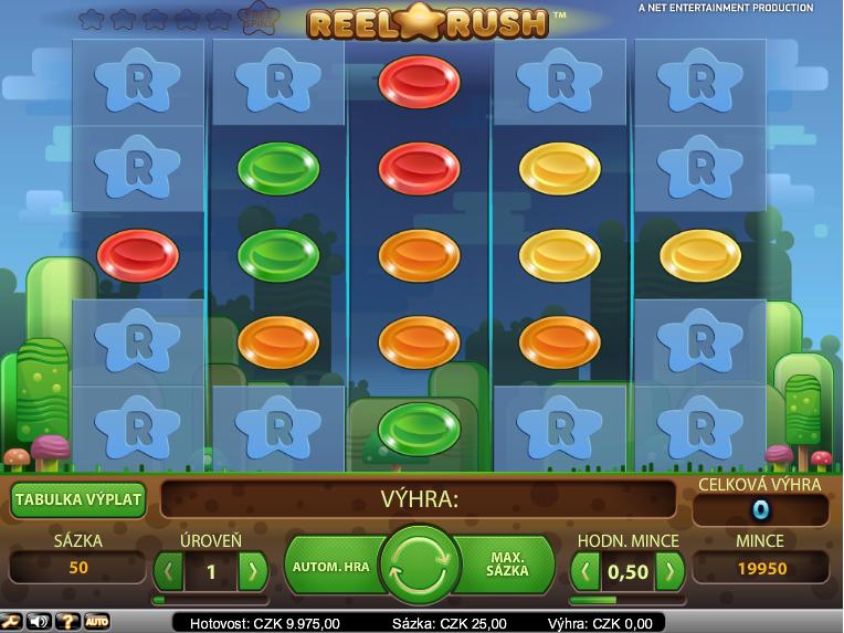 Online automat Reel Rush zdarma