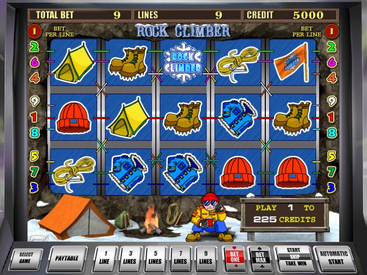 online automat zdarma Rock Climber
