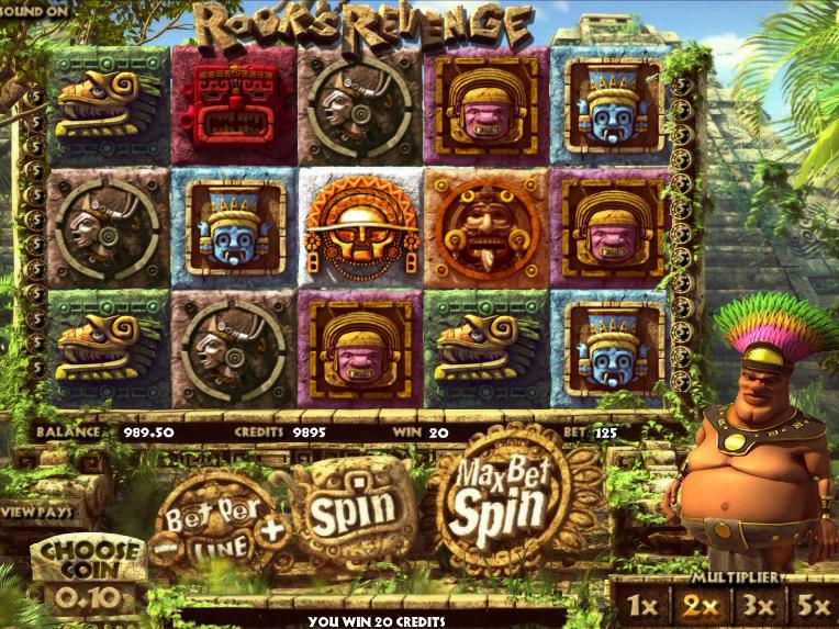 Online casino automat Rook´s Revenge zdarma