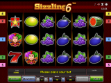 online automat zdarma Sizzling 6