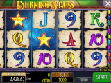 Burning Stars zdarma automat online