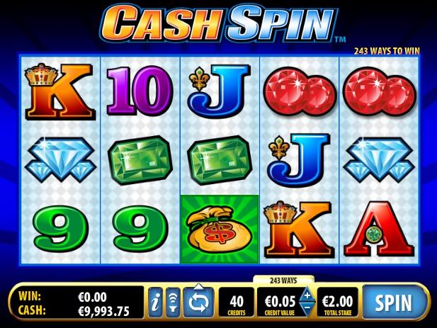 automat zdarma online Cash Spin