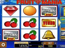 Fruit Mania online automat zdarma