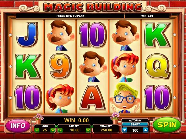 online automat zdarma Magic Building
