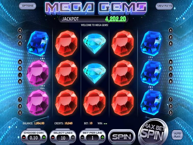 Mega Gems online automat zdarma