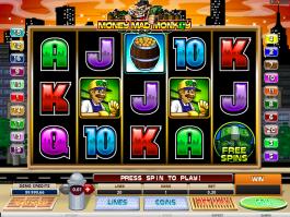 Money Mad Monkey online automat zdarma