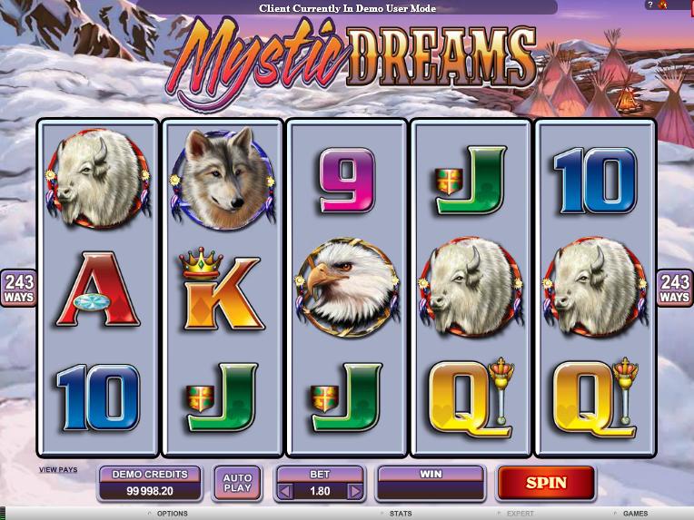 Mystic Dreams automat zdarma online