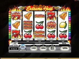Retro Reels Extreme Heat automat zdarma online