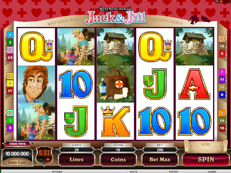Rhyming Reels: Jack and Jill automat zdarma online